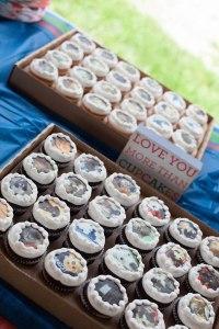 OC 3rd bday Cupcakes